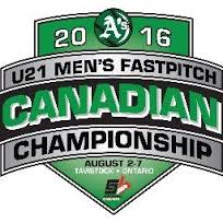 1 - U21 Men's Canadian Fast Pitch Championship